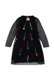 Dress with Embroidered Panels detail