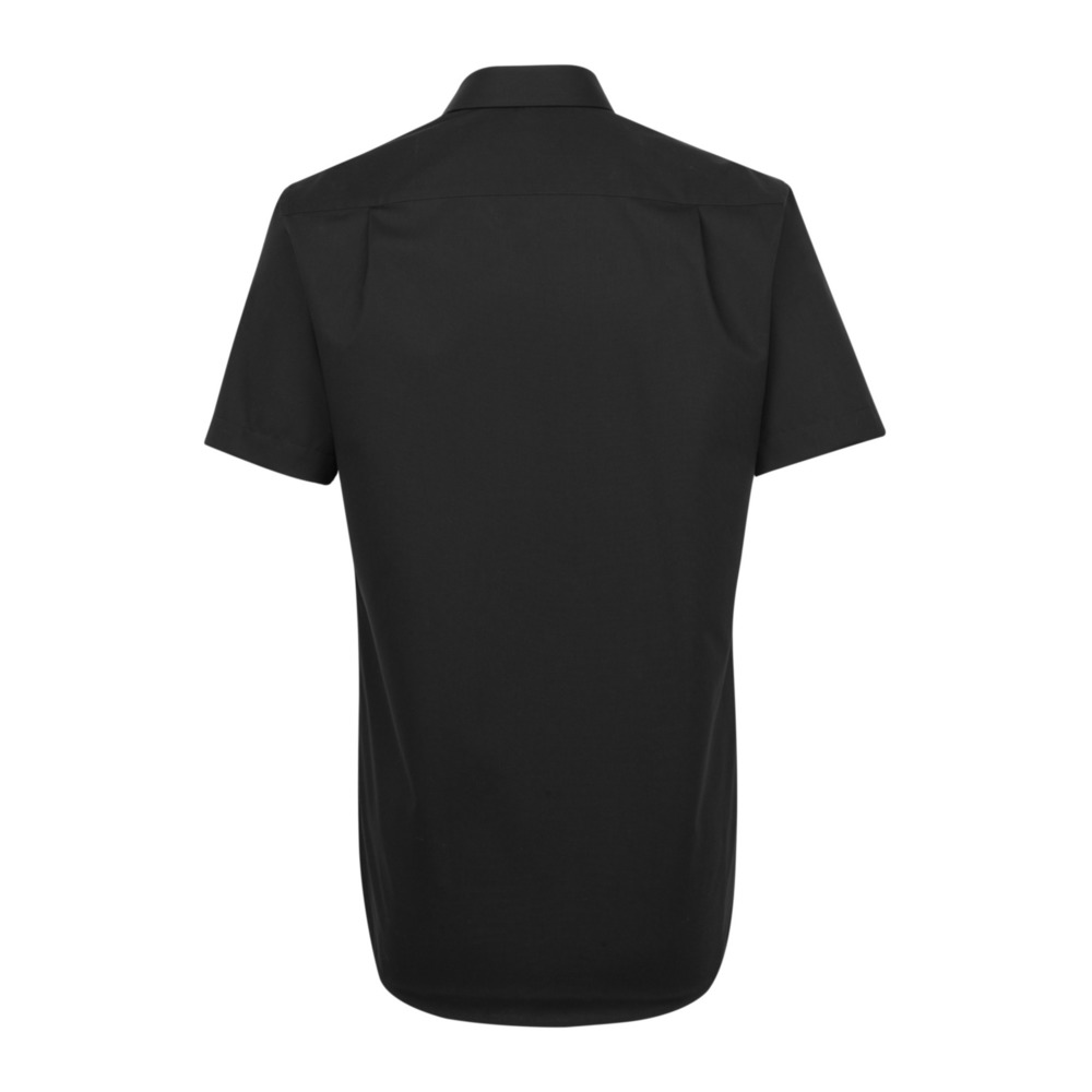 Black Business Shirt Regular | Seidensticker | Casual Overhemden | Herenkleding