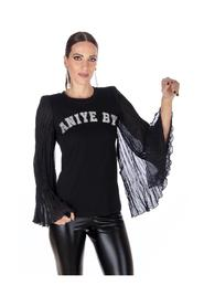 RINA T-SHIRT SLEEVES IN GEORGETTE OPEN TO BELL