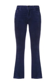 SELENA MID RISE CROP BOOT TROUSERS