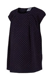 Short sleeved maternity top Dotted