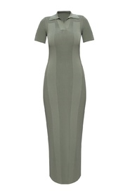 'Maille' cut-out dress