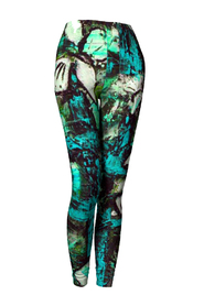 Unique things by Lingmerth Leggings Teal