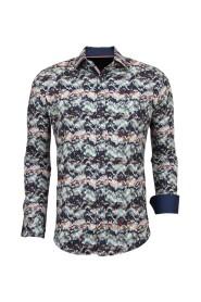 Overhemden Luxe Italiaanse Blouse 3008