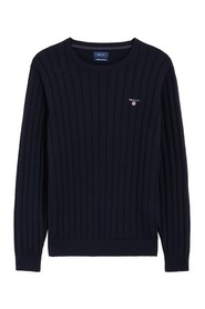 Cotten Rib Crew Sweater