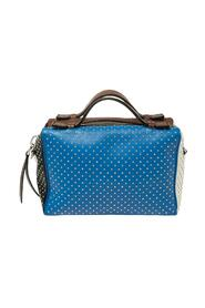 Leather Mini  Gommino Studded Bowling Bag