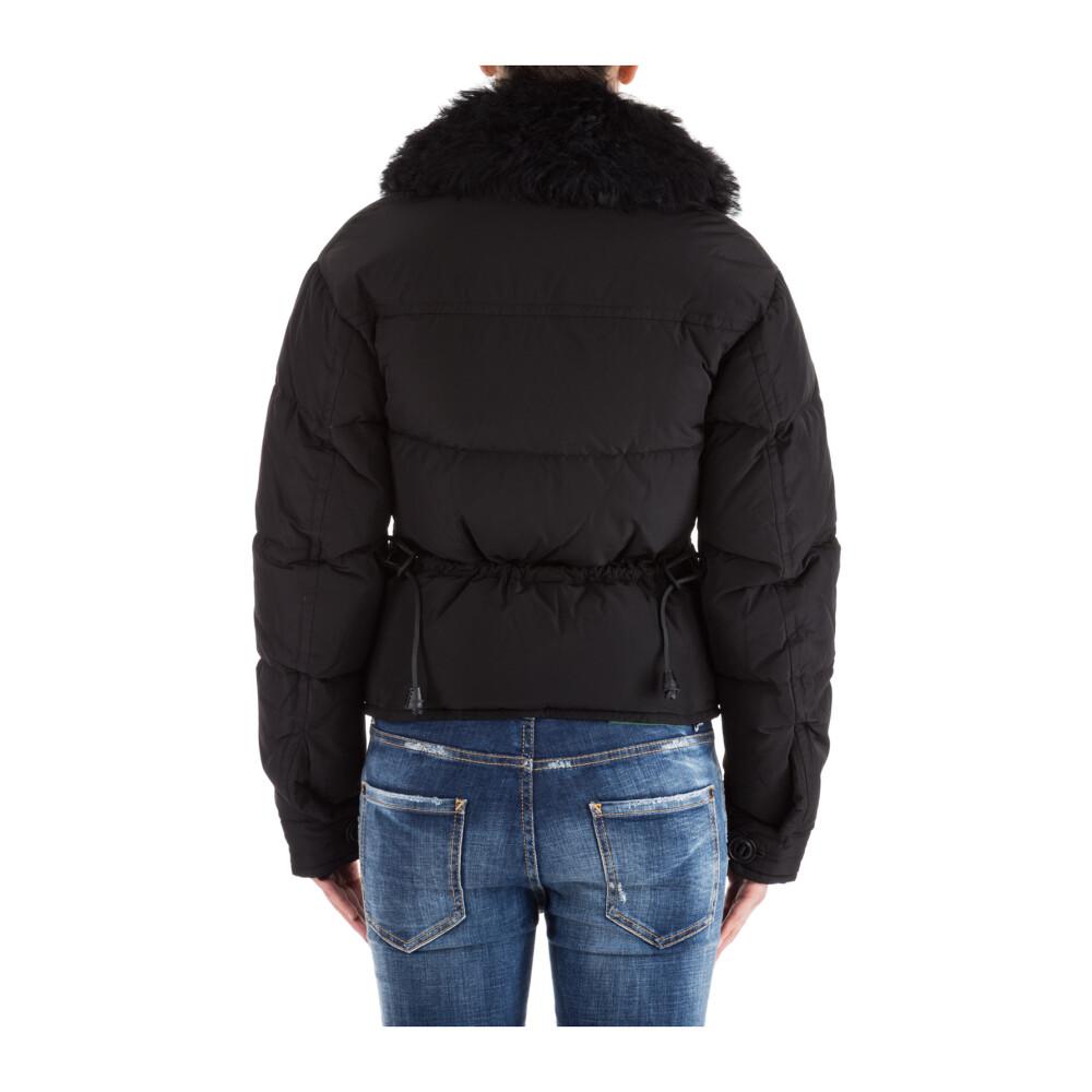 Naisten Vaatteet Black women's outerwear down jacket Dsquared2 Takit Miinto