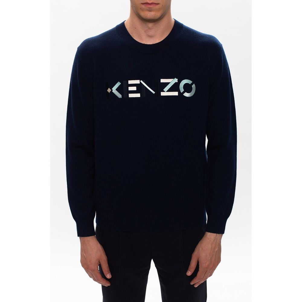 NAVY BLUE Sweatshirt | Kenzo | Truien  Vesten | Heren winter kleren