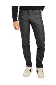 Super guy natural indigo selvedge jeans