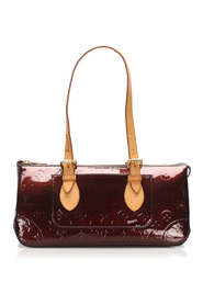 Monogram Vernis Rosewood Leather