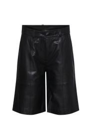 Noam Shorts Leather