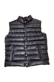 Herre Dunvest i skinn jacket