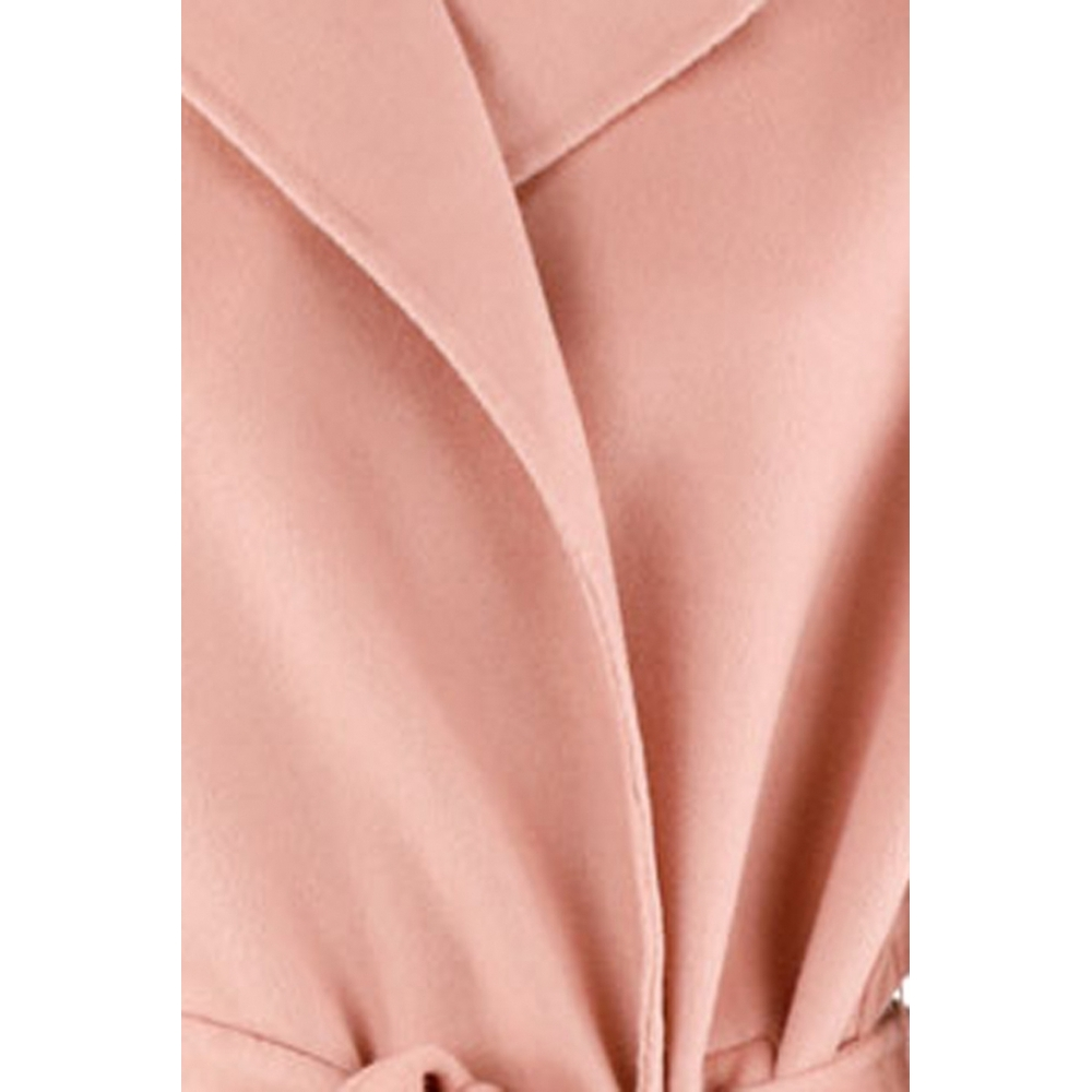 CLAIRVAL Pink Coat CLAIRVAL