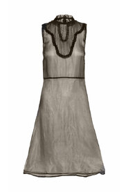 Klänning Sheer Silk Sleeveless