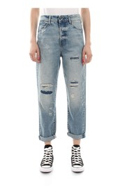 G-STAR D09098 9920 MIDGE HIGH BOYFRIEND JEANS Women DENIM LIGHT BLUE