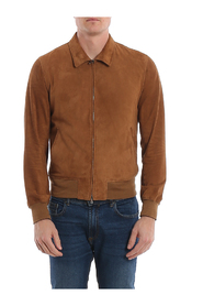 ETERE KLASH SLIM SUEDE JACKET