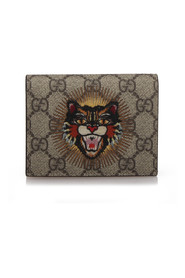 Supreme Angry Cat Card Holder