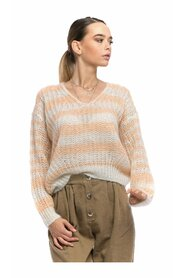 Sweater for women 8525 APRICOT