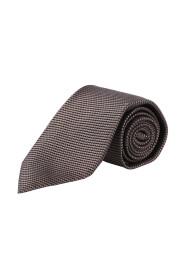 krawat z mikrowzorem