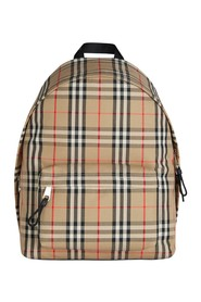 Mochila Nylon Vintage Checks Backpack