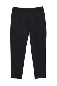 Terry Cropped Trousers