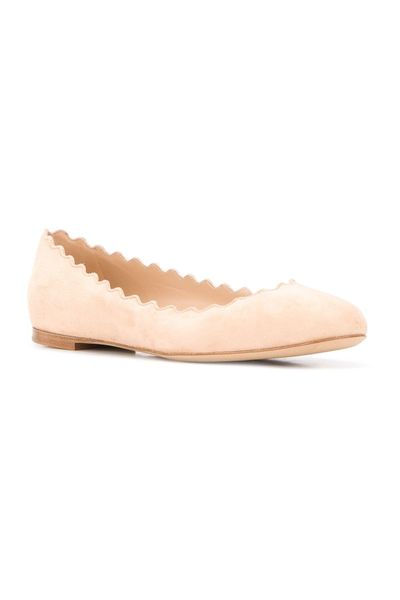 Pink Flat Shoes Chloé Loafers