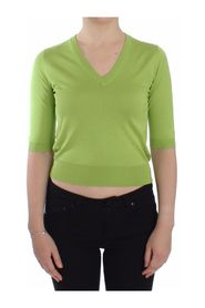 V-neck Pullover Sweater Top