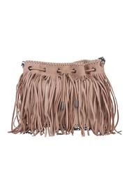 Falabella Fringe Bucket Bag