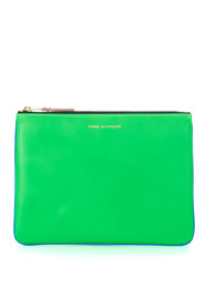 FLuo leather pouch