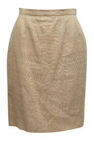 Pre-Owned Boutique Linen Skirt
