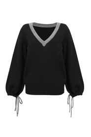 Sweter Face Black
