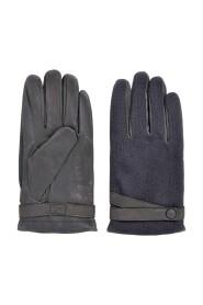 Handskar med vävnadssnitt i kontrast Gössling 50374390