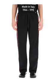 jogger pants with side bands