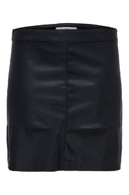 CARDIEGO  FAUX LEATHER SKIRT