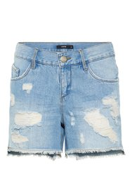 Denim shorts regular fit distressed