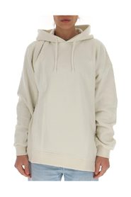 Oversize hoodie with embroidered logo at the chest