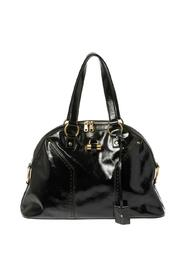 pre-owned Patent Leather Large Muse Bag