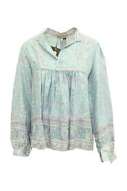 Floral Print Oversized Silk Blouse -Pre Owned Condition Very Good