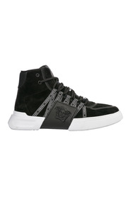 men's shoes high top suede trainers sneakers