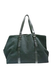 Pre-owned Canvas Travel Bag