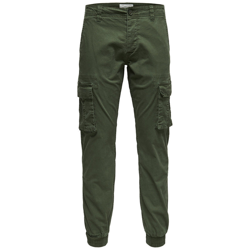 Cargo pants Slim fitted