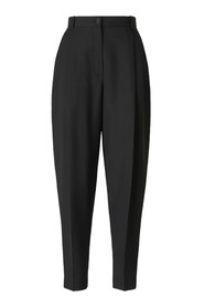 Straight Wool Pants