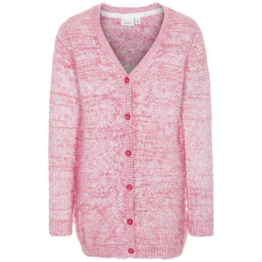 Knitted Cardigan floral embroidered
