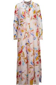 Tunika-Kleid mit buntem