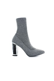 STRETCH KNIT ZILVER ALEXIS BOOT