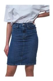 Hepburn Denim Skirt