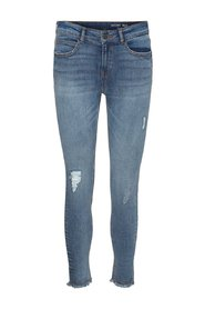 Skinny jeans NMLUCY Cropped Ankle Regular Waist