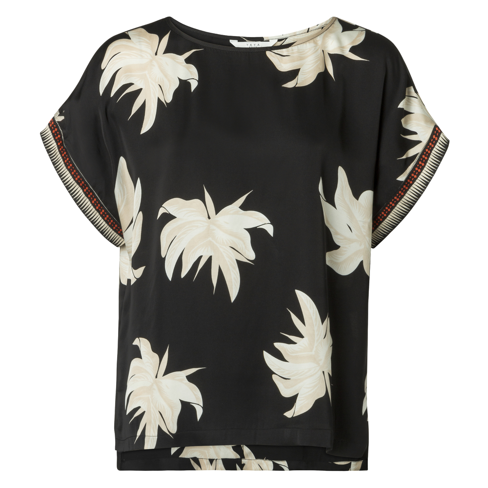 TOP WITH FLOWER PRINT 1901145-915, 000011