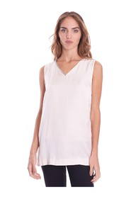 V-NECK TANK TOP WITH LUREX