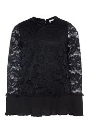 Blouse long-sleeved lace